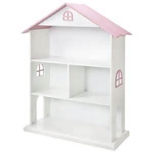 Target White Bookshelves Dollhouse Bookcase White Pink Foremost Target