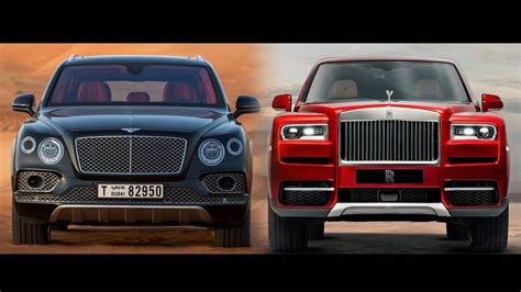 rolls royce cullinan vs bentley bentayga rolls royce cullinan vs bentley bentayga