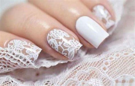 imagenes de uñas pintadas para novias u 241 as decoradas ideales para novias u 241 asdecoradas club
