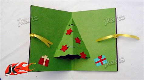how to make a chrismas card jk arts jharna khushboo s 106 how to make