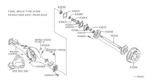 nissan frontier rear axle rear axle for 2001 nissan frontier nissan parts deal