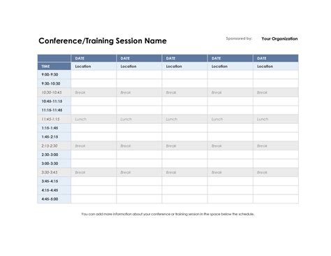 program schedule template excel schedule template excel schedule template free