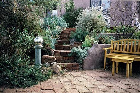 Rustic Garden Ideas Desert Landscaping Ideas Exterior Mediterranean With Boulder Desert Drought Tolerant