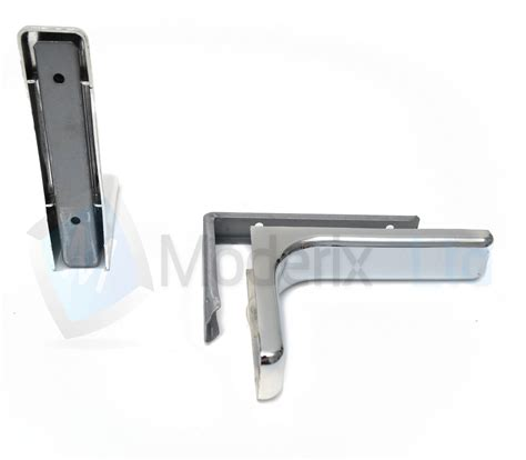 shelf support brackets with covers 240mm invisible