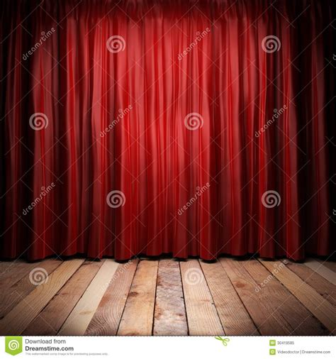 theatre curtain material red fabric curtain royalty free stock photo image 30419585