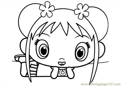 ni hao kai lan 24 coloring page free ni hao kai lan
