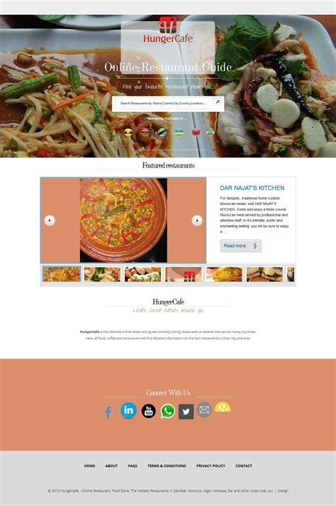 cafe digitex our work javanet systems website design company in