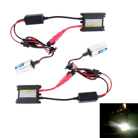 hid color temperature 2pcs 35w h7 slim hid xenon light high intensity discharge