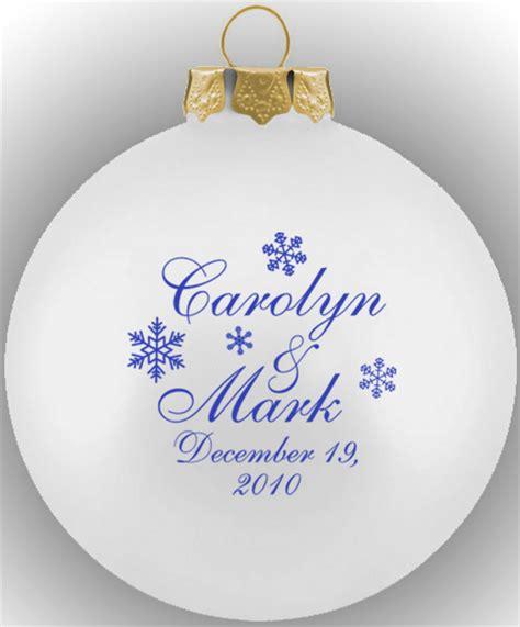 wedding ornament favors wedding favor christmas ornaments