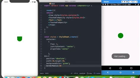 react native ios app tutorial floating action button android ios app tutorial