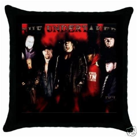 Wwf Pillows by Gift Selection New Item Wwf Undertaker Throw Pillow