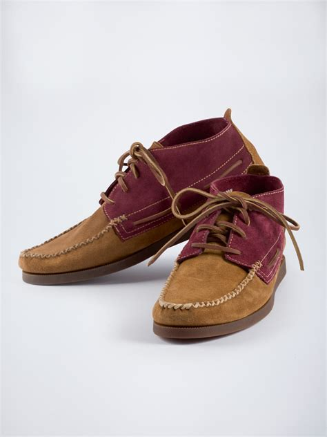 sperry suede moccasin boots christian