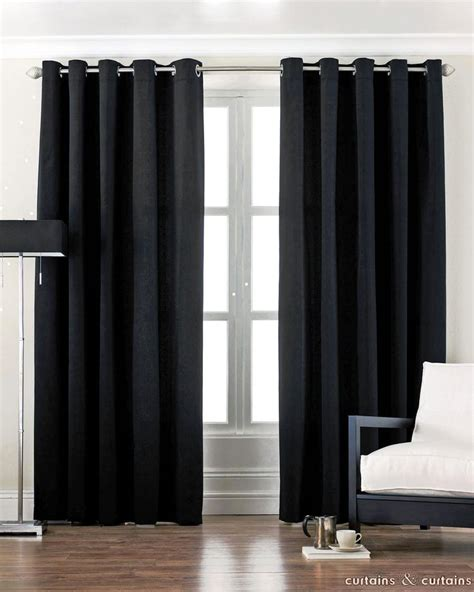 Black Living Room Curtains Ideas Black And Curtains Black Curtains Benefits And Why You Need Ones Home Design Studio