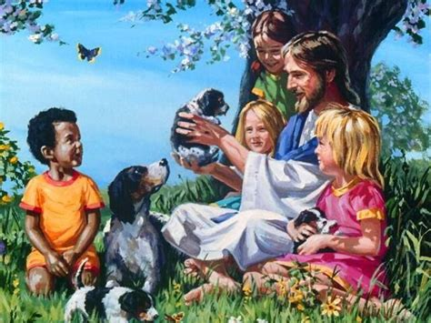 Children Are From Heaven freedom animals vegan jesus children future govegan peaceforall animal rights