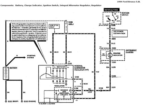 stereo wiring diagram ford bronco 1984 ford bronco