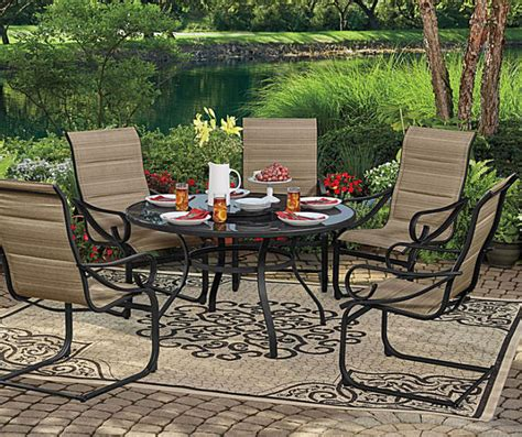 pit sets on sale wilson fisher tahoe patio dining collection big lots