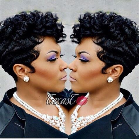 pixie hair cuts on wetset hair 360 best cute styles fingerwaves soft curls images on