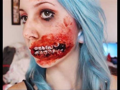tutorial maquiagem do kiss tutorial maquiagem zombie youtube