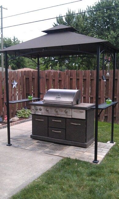 grill gazebo good idea  functional cabin ideas