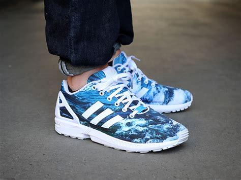 Terbaru Adidas Zx Flux Torsion 73 adidas zx flux photo print torsion blau weiss the will out sneakershop k 246 ln