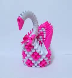 3d Origami Swan Tutorial - 3d origami magenta swan by designermetin on deviantart