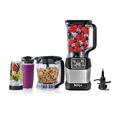 ninja blender bed bath and beyond ninja 174 kitchen system with auto iq boost bed bath beyond