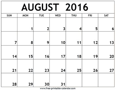 2016 Calendar August December Calendar With Moon Calendar Template 2016