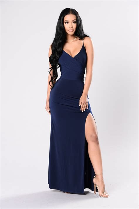 Dress Navy high dress navy