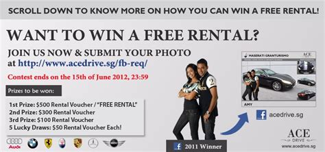 Win A Free Car Instantly - free car rental win a free car rental promotion