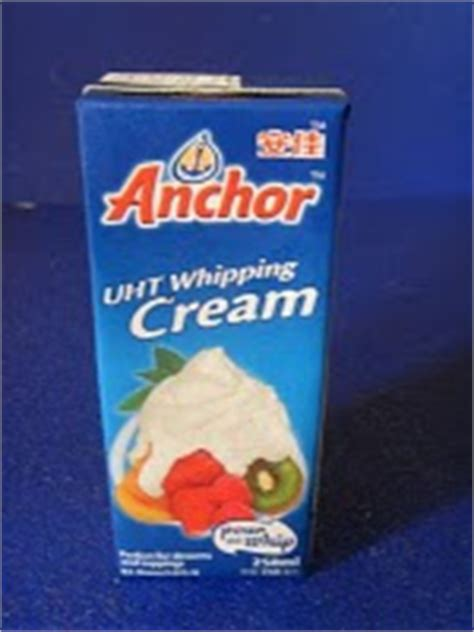cara membuat whipped cream merk anchor asam garam 2 puteri fresh cream non diary whipping