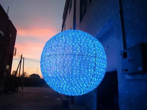 large outdoor christmas balls lights buy large outdoor