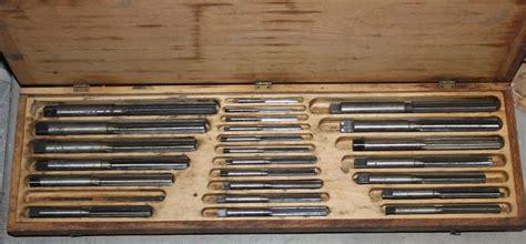 hand reamer set  keystone reamer  tool