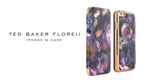 ted baker iphone   hoesjes curiosities aw youtube