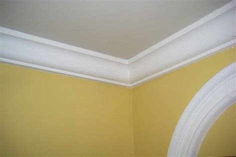 Styrofoam Crown Molding How To Repairs How To Install Styrofoam Crown Molding