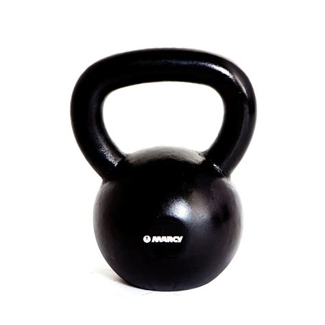marcy cast iron 32kg kettlebell