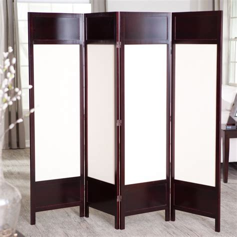 24 best room dividers screens made from canvas wood