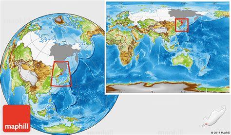 vladivostok on world map physical location map of vladivostok highlighted country