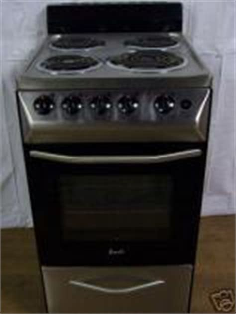 Apartment Size Electric Stove Cost To Ship E3609 20 Quot Apartment Size Electric Range
