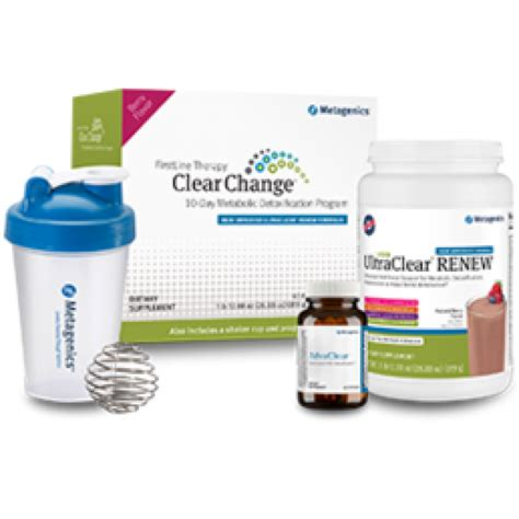 Metagenics Ultra Clear 28 Day Detox Program by Metagenics Clear Change 10 Day Program With Ultraclear