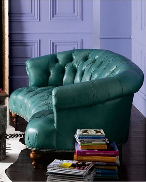 Turquoise Leather Sofa Teal Leather Sofa I Turquoise