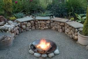 Build Firepit Gabion Outdoor Pit Pit Design Ideas Usa
