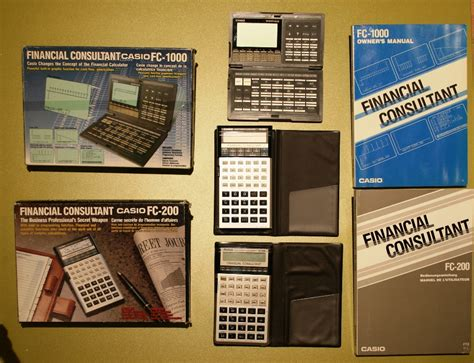 Kalkulator Casio Seri Financial les financi 232 res casio ordinateurs de poche