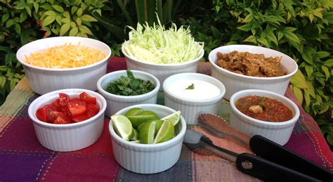 Toppings For Taco Bar by Taco Toppings