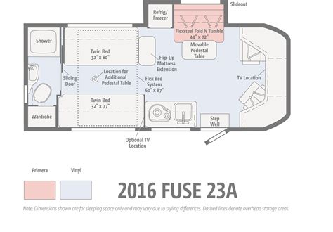 small rv floor plans the winnebago fuse ignites winnebagolife