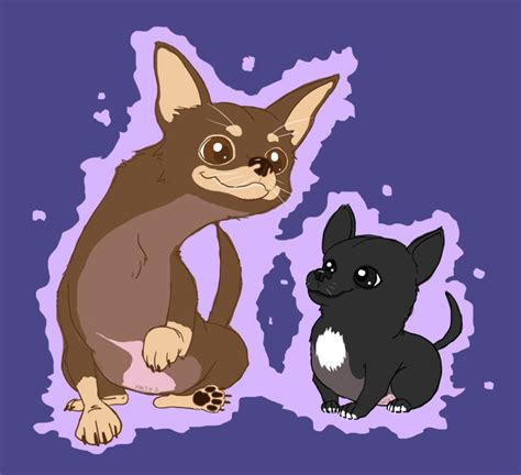 doodle void chihuahuas chocolate void doodle by faithsdk on deviantart
