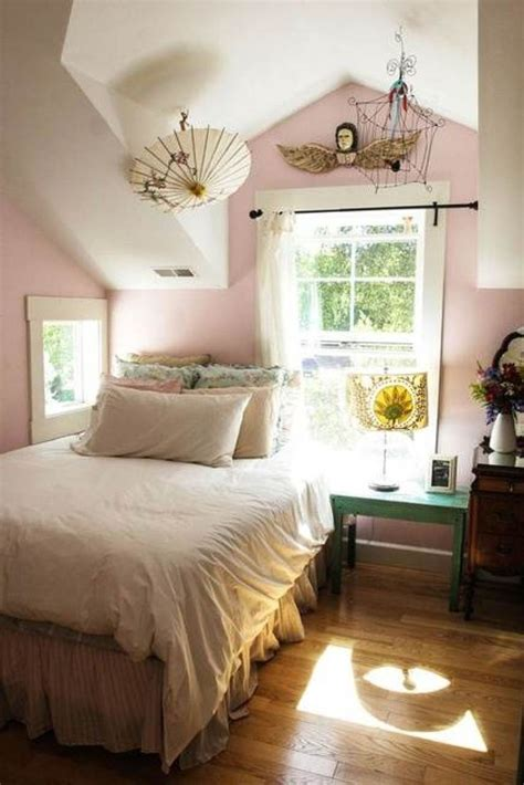 Shabby Chic Purple Bedroom - bedroom attractive and functional attic bedroom design ideas to inspire you attic room low