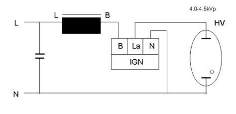 metal halide ballast wiring diagram 100w metal halide ballast wiring diagram metal halide