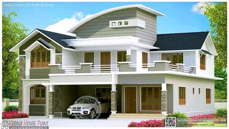 kerala modern house plans with photos