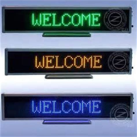 Led Running Text Outdoor products buy running text led display from aay emm