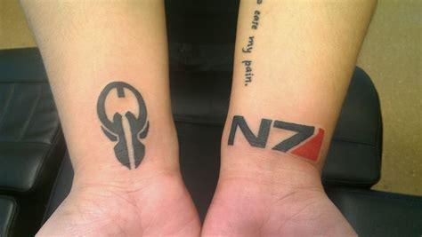 n7 tattoo n7
